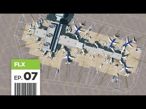Cities Skylines: FBS International Airport - Part 7 - Terminal Spokes