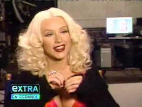 Christina Aguilera Extra en Espanol 50 Mas Bellos People en Espanol