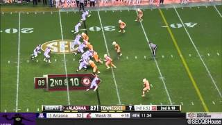Blake Sims vs Tennessee (2014)