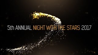 5TH ANNUAL NIGHT WITH THE STARS 2017 RED CARPET