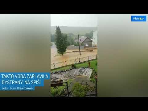 Autentické VIDEO: Toto dokázalo počasie narobiť na Spiši!