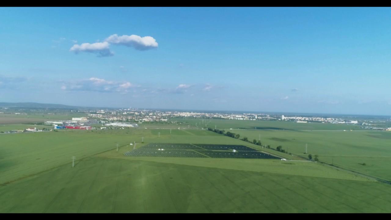 Aerial Ploiesti North View