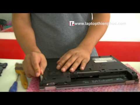 Hướng dẫn tháo lắp và vệ sinh laptop hp elitebook 6930p phần 1