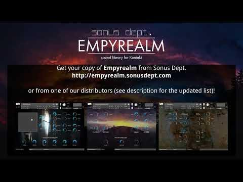 EMPYREALM | Atmospheric cinematic sound library for Kontakt
