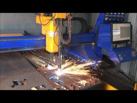 Maquina de corte plasma 2D ECKERT JANTAR 2 2007