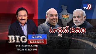 Big News Big Debate | Will BJP win 350 seats in 2019 | Narendra Modi | TV9