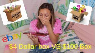 Video $4 vs 100 Ebay Mystery Box MP3, 3GP, MP4, WEBM, AVI, FLV September 2019
