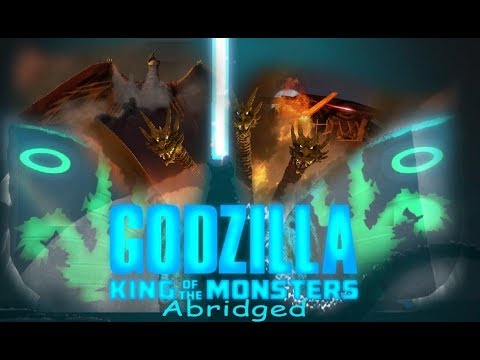 Godzilla: King of the Monsters abridged FULL MOVIE! (animated parody) (13+)