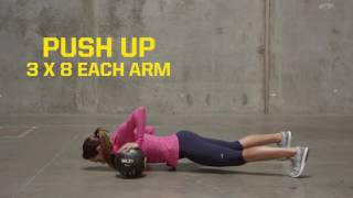 SKLZ Trainer Med Ball Upper Body Workout