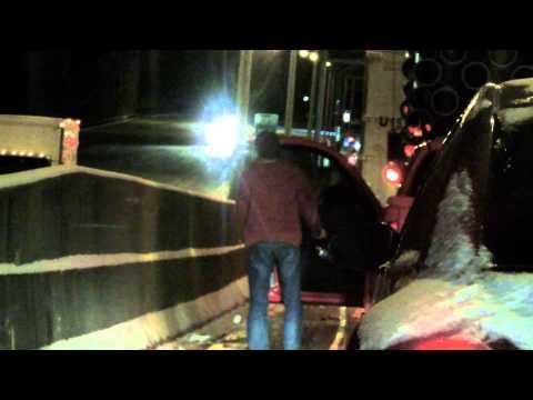 Atlanta: Winter Storm 2014 - Traffic Jam Video Diary