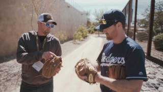 The Wilson Baseball glove team was feelin' blue at Los Angeles Dodgers Spring Training camp for Glove Day. Watch as Rich Hill (Custom A2000 B2), Clayton Kershaw (A2000 CK22 GM), Logan Forsythe (Custom A2000 1786) and Justin Turner (A2000 1787 and A2000 DW5 SS) talk about how they choose their Wilson gloves and what makes them special. For more, check out Wilson.com/GloveDay.