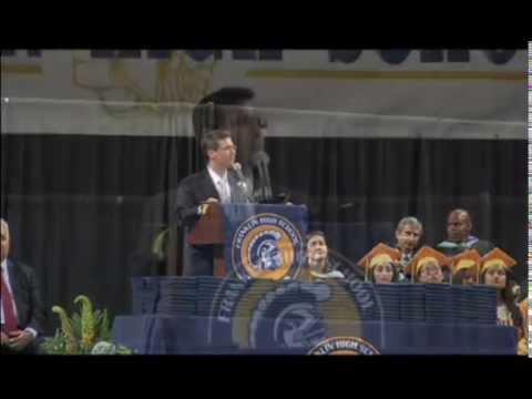 Franklin High School, Somerset County, NJ.   Graduation 2015, Board President Potosnak