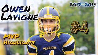 Owen Lavigne (LB) - Class 2023 - 2018 NCAFA Highlights