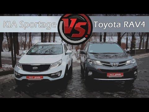 KIA Sportage VS Toyota RAV4. Сравнительный тест