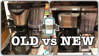 Here we show a comparison between the older Ninja Coffee Bar and the New 2016 version.  We review the differences and the additional features of the new model. Save $20 off the New Ninja Coffee Bar here:  https://refer.ninjakitchen.com/s/tmvm6Get the New Ninja Coffee Bar with tumbler and cookbook Here : http://amzn.to/2kuaAzcGet the old Ninja Coffee Bar Here. http://www.shareasale.com/m-pr.cfm?merchantID=33205&userID=1055423&productID=665255288Or Buy a Ninja Coffee Bar here: http://www.ninjakitchen.com/brewing/ninja-coffee-bar-system/PLEASE SUBSCRIBE!!!http://www.youtube.com/subscription_center?add_user=im14pinballFind Ninja Cooking system recipes here: http://EasyNinjaRecipes.comWe are a participant in the Amazon Services LLC Associates Program, an affiliate advertising program designed to provide a means for us to earn fees by linking to Amazon.com and affiliated sites.