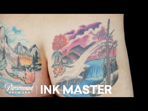 Robbie Ripoll's Ass Tattoo Makes a Comeback | Ink Master: Redemption (Season 4)