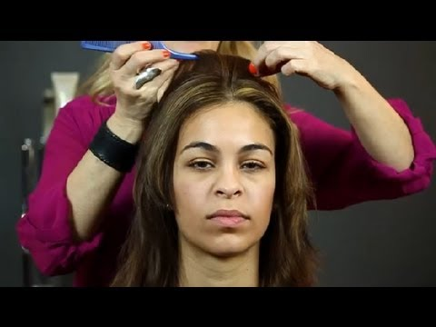 Style Ideas for Long, Straight, & Thin Hair : Hair Styling Tips