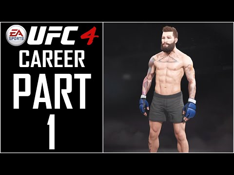 "EA Sports UFC 4 - Career - Gameplay Walkthrough - Part 1 - ""Character Creation"""