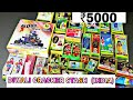 Diwali crackers stash 2017 with price of each item.