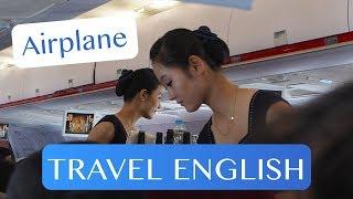 Video Travel English - On the Airplane MP3, 3GP, MP4, WEBM, AVI, FLV Agustus 2018