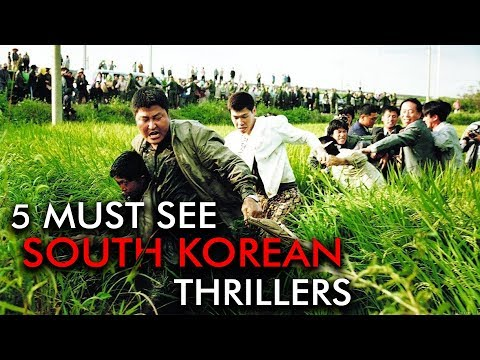 5 Must-See Films | South Korean Thrillers