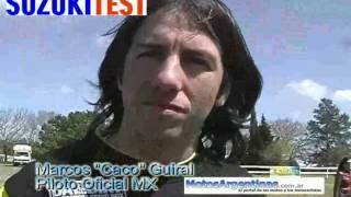 7. suzuki dr 200 SE TEST en Argentina Presentación