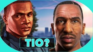 GTA V : CJ É TIO DO FRANKLIN ? TIA DENISE SAFADONA