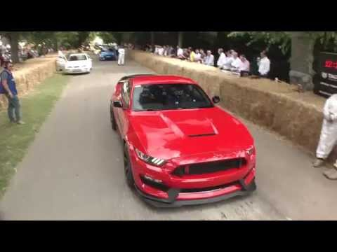 2015 Ford Mustang GT350R looks barely controllable