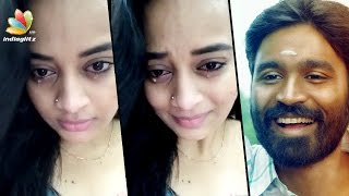 Video Dhanush makes Malayali actress Suja Varunee cry | Hot Tamil Cinema News MP3, 3GP, MP4, WEBM, AVI, FLV April 2018