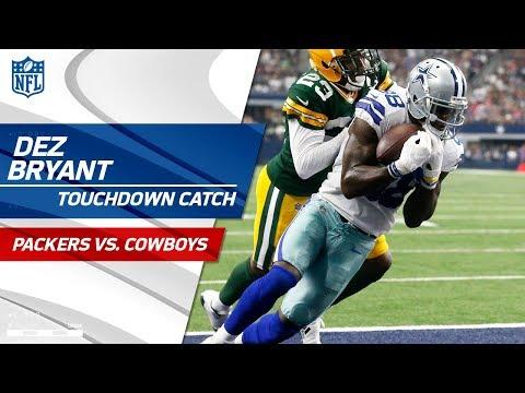 Video: Dak Prescott Uses His Legs to Extend Drive & Tosses TD to Dez!   Packers vs. Cowboys   NFL Wk 5