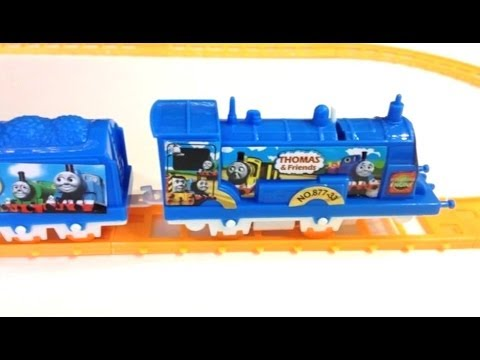 Thomas and Friends Motorized Thomas Train play set with Track by PleaseCheckout