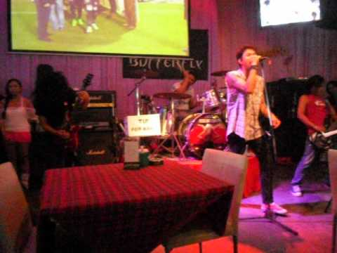 Live music at Mambo Club, Koh Samui. 2011