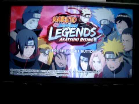 naruto shippuden legends akatsuki rising psp download