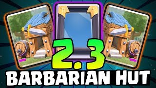 Video THIS IS MADNESS! 2.3 BARBARIAN HUT CYCLE! Fastest Cycle Possible | Clash Royale MP3, 3GP, MP4, WEBM, AVI, FLV Desember 2018