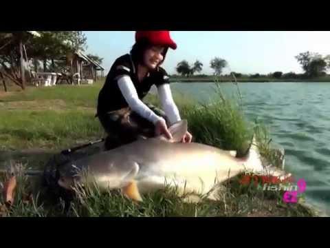 Hotgirl Thái Lan Câu được Cá Cực Khủng gần 33kg