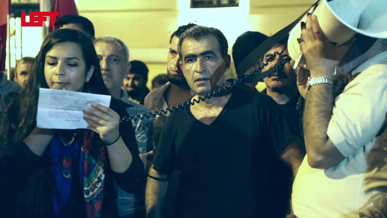 Διαδήλωση συμπαράστασης στον κουρδικό και τουρκικό λαό