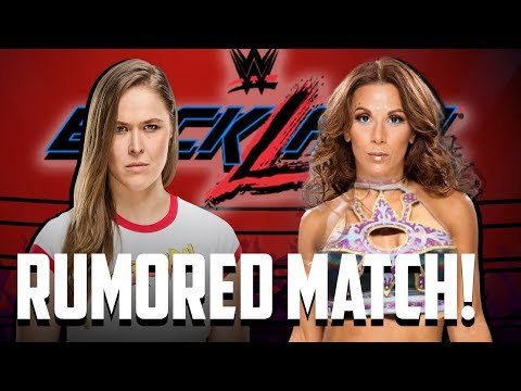 Ronda Rousey vs. Mickie James Rumored To Be Added To Backlash!