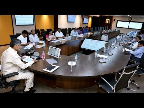 AP CM Held Review Meeting on Road Safety
