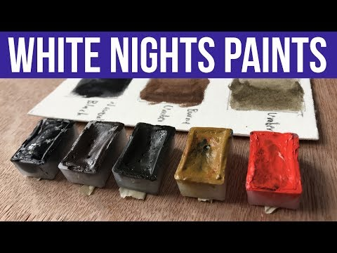 St. Petersburg White Nights Watercolors | First Impressions & Demo