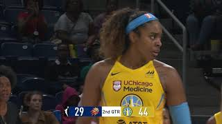 Cheyenne Parker Posts Career-High in Upset by WNBA