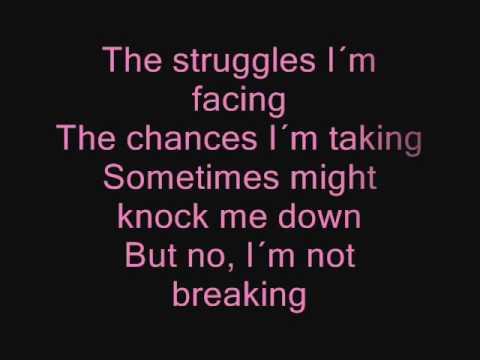 Miley Cyrus - The Climb ( Lyrics/Songtext )