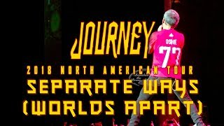 Separate Ways (Worlds Apart) - Journey Jiffy Lube Live Bristow June 8 2018 TJ Oshie 77 ALLCAPS