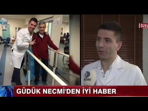 Fizyoterapist Hürkan AKKUZU,Felç Geçiren Usta Oyuncu Halit Akçatepe'nin sağlık durumunu değerlendi.