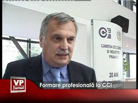 Formare profesională la CCI