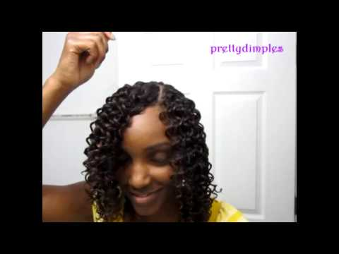 sew in with invisible part