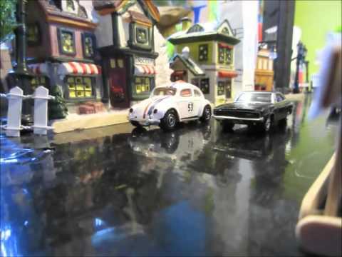 Bullitt - Car Chase - Stop Motion