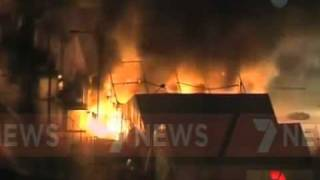 Several buildings were destroyed when more than 250 inmates of Christmas Island's Detention Centre moved through the facility,...