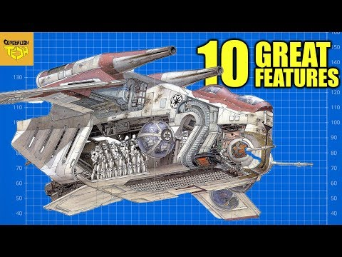 10 Features that made the LAAT GUNSHIP the BEST Transport in Star Wars