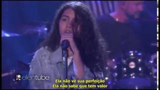 Scars to Your Beautiful - Alessia Cara live on Ellen Video
