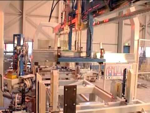 AWL-Techniek | Production line for door frames